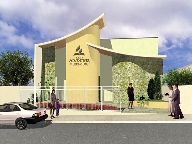 Município com três mil habitantes recebe templo adventista ...