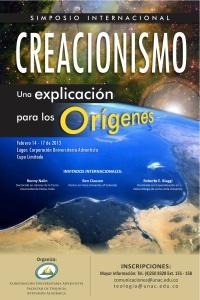AFICHE SIMPOSIO CREACIONISMO