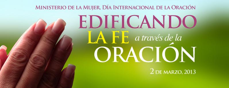 Ministerio de la Mujer celebrará Día Internacional de la Oración
