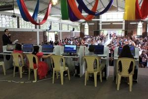 El concurso consistía en responder las preguntas de un programa de computador preparado por la DIA