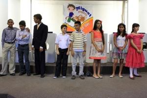 Los 8 finalistas representaron a cada uno de los campos de la UCN