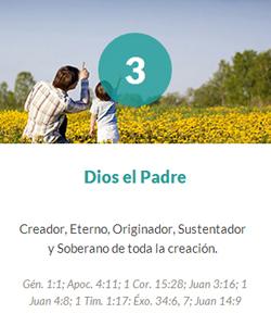 3 Dios el Padre