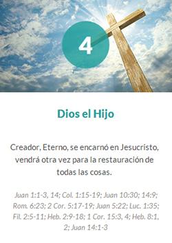 4 Dios el Hijo