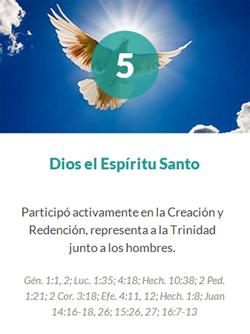 5 Dios el Espiritu Santo
