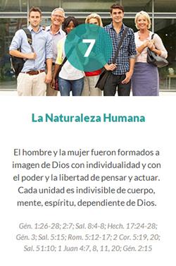 7 La Naturaleza Humana