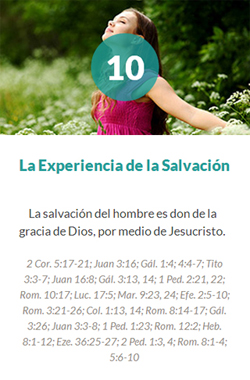 10 La Experiencia de la Salvación