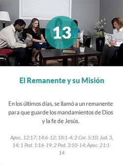 13 El Remanente y su Misión