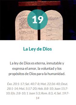 19 La ley de Dios