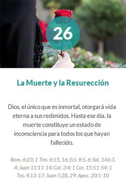 26 La muerte y la resurrección