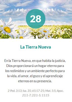28 La tierra nueva