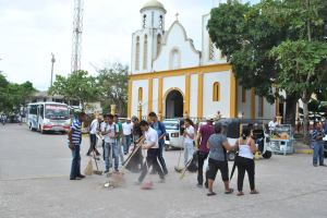 Niños, jóvenes y adultos dedicaron tiempo y talentos para impactar Galapa y darle al municipio una cara limpia