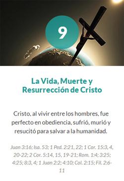 9 La Vida, Muerte y Resurrección de Cristo
