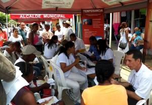 El Impacto Necoclí comenzó con actividades de servicio social como Exposalud