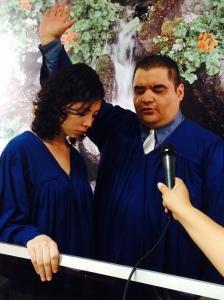 Dany Santos, primer anciano de iglesia en Guatemala, bautizó  31 nuevos creyentes el pasado sábado 28 de septiembre (Imagen por cortesía de la Unión de Guatemala/DIA)