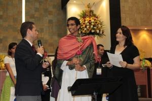 El ganador fue Cristian Cardozo, representante de la UNAC
