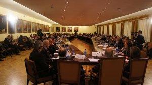 Líderes académicos, políticos y religiosos discuten los derechos y las responsabilidades de las minorías religiosas en la I Conferencia Internacional sobre Libertad Religiosa y Minorías Religiosas. Foto: Cortesía AIDLR/ANN