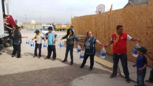 Las donaciones ayudan a minimizar los efectos causados por los terremotos