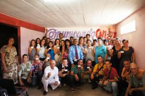 Algunos comunicadores adventistas de Cuba. Foto: José Aurelio Paz