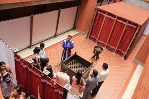 La primera presentación se realizó en la UNAC en noviembre de 2013