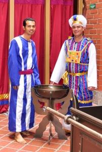 Marcos Correa y Miguel Álvarez son estudiantes del 5º semestre de Teología, y autores del proyecto