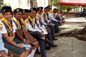 Durante el Camporee los jóvenes impactaron el municipio de Arjona con actividades de servicio a la comunidad
