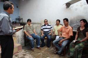 Reunión del Grupo Pequeño Luz y Visión de Cristo el pasado 27 de abril