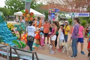 El domingo, día 8, en el Malecón se realizó el Expo-Creación, donde se explicaba a los visitantes los detalles de cada día de la creación