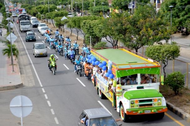 Para exaltar el relato bíblico de la Creación, la Iglesia Adventista de Cúcuta y municipios vecinos, realizaron la denominada Caravana de la Creación el pasado 7 de junio