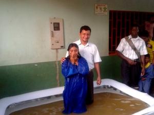 43 indígenas Julieros son los más recientes  adventistas en el distrito Tame Oriental