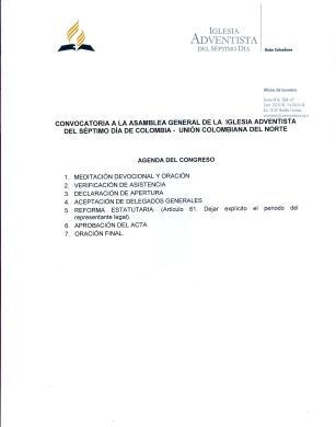 Asamblea Extraordinaria UCN - 2
