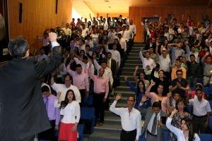 Cerca de 200 personas se reunieron en Bucaramanga para aprender sobre comunicación y evangelismo digital