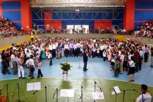 Enfocados en la Misión, jóvenes de Barranquilla participaron en congreso los días 17-18 de octubre [Foto: Javier Jiménez]