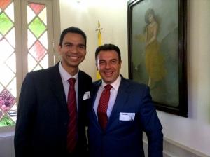 Gabriel Villarreal y Ricardo García García