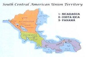 El actual territorio de la Unión Centroamericana del Sur se dividirá en dos uniones para un mejor apoyo administrativo del ministerio local. Una unión incluirá Panamá y la otra unión incluirá Costa Rica y Nicaragua