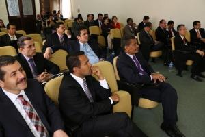 La División Interamericana se hizo presente en la Junta de Fin de Año con la participación de su vice-presidente, el pastor Abner de los Santos