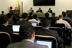 En la Junta de Fin de Año de la UCN participan administradores y líderes representantes de los 8 campos que componen está región administrativa de la Iglesia Adventista en Colombia