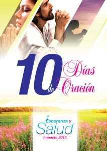 Tapa folleto - 10 días de oración 2015