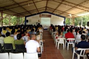 Cerca de 250 maestros asistieron al encuentro organizado por el departamento de Educación de la UCN, en Santa Marta