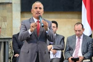 Miguel Pinheiro, pastor y líder de Mayordomía Cristiana para la IASD en Sudamérica, el sábado 31 de enero, en la iglesia de la UNAC