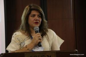 Doctora Lorena Ríos, Coordinadora del Grupo de Asuntos Religiosos en el gobierno de Colombia