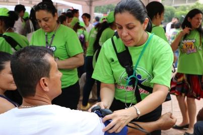 Promotores de Salud, orientaron a más de 200 personas sobre hábitos de vida saludables