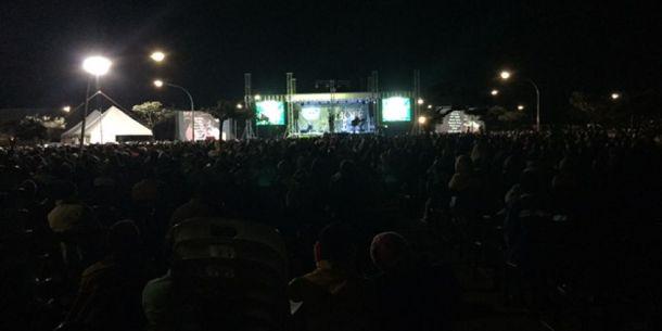 Unas 18 mil personas asistieron a una reunión de evangelización en Chitungwiza, Zimbabue, el pasado 18 de mayo. Imágenes por cortesía de Ted N.C. Wilson/AR