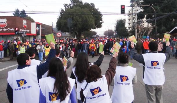 Copa América impactada por jóvenes adventistas