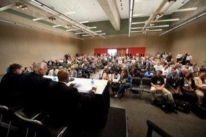 La asamblea de la División Norteamericana en Atlanta, Georgia, Estados Unidos. Imagen de Gerry Chudleigh/ANN