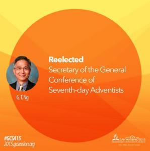Secretario  IASD 2015 - 2020