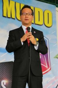 Por primera vez en Colombia, el pastor Jiwan Moon, director mundial de PCM, acompañó este evento que reunió a 450 universitarios y profesionales adventistas [Foto: Shirley Rueda]