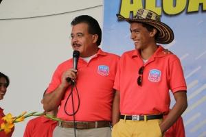 Hiram Ruiz dirige PCM en Interamérica. En el evento, él incentivó a los profesionales a convertirse en mentores de los universitarios