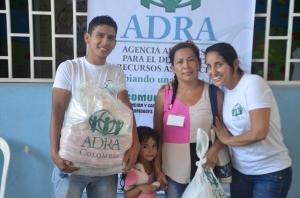 Las donaciones entregadas en Cúcuta beneficiaron a más de 1700 personas [Foto: ADRA-Colombia]