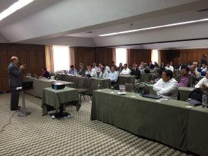 Líderes financieros de las Uniones de Colombia, Venezuela y Curazao, participan en dirigido a ellos por la División Interamericana los días 8-10 de febrero, en Medellín