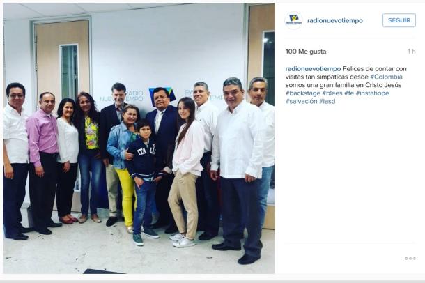 Imagen: Instagram @radionuevotiempo
